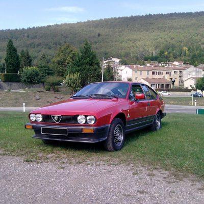 ALFETTA GTV 2L de 1983